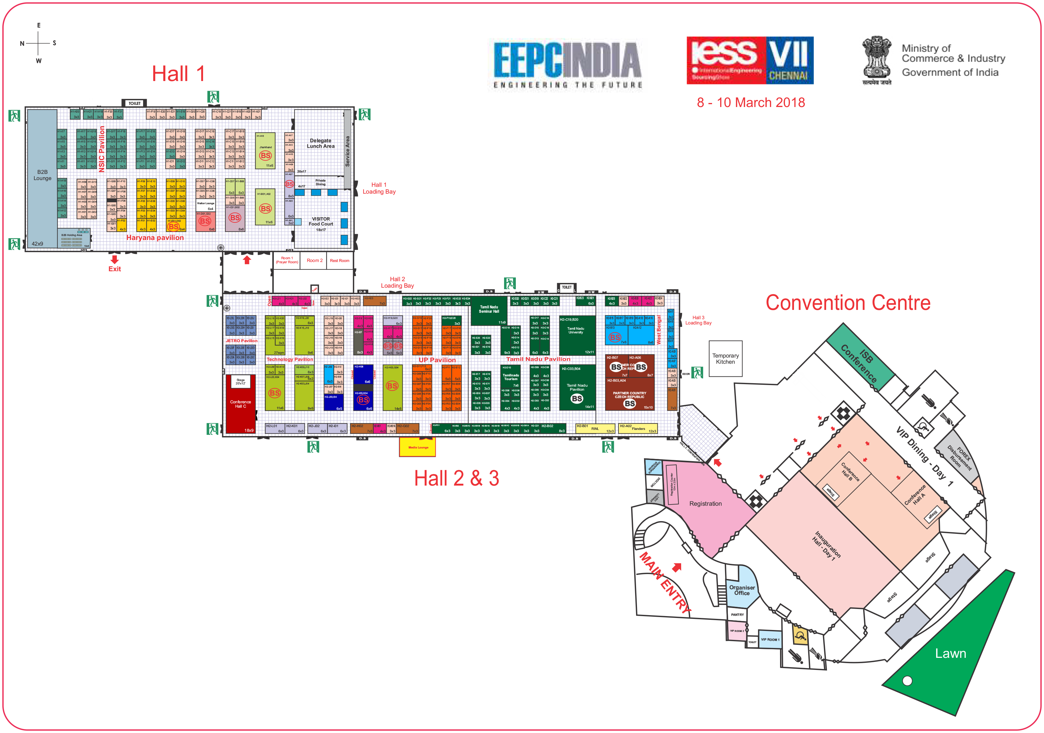 IESS VII Venue Layout